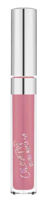 colourpop liquid lipstick in 'shimmy' 🌸