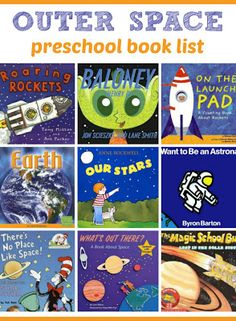 Outer Space Preschool Books