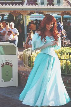 Ariel, this is the best cosplay/costume I've ever seen