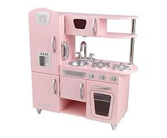 Cuisine pour enfants VINTAGE, rose - H89