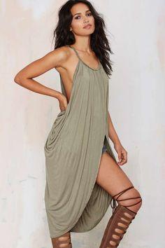 Athena Draped Dress | Shop Clothes at Nasty Gal!
