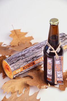 Mekfarin Beer #Packaging #log #beverage | Martin Fek