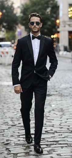 Formal Men Outfit, Formal Shoes For Men, Men Formal, Black Suit Men, Black Tuxedo, Tuxedo For Men, Prom Outfits, Classy Outfits, Wedding Outfits For Men