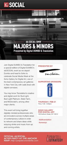 Digital Dumbo - Majors & Minors