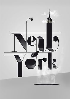 New York poster typo by Patten