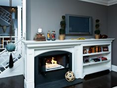 Transitional | Living Rooms - Home and Garden Design Idea's
