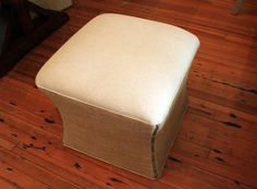 Upholstered Toulouse Ottoman *50% Deposit*