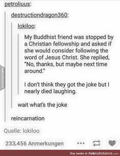 Example of a good religious joke
