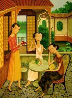 Shuai Mei born 1969 in Beijing, China