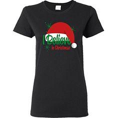 Inktastic Believe In Christmas Women's T-Shirt Medium Black inktastic http://www.amazon.com/dp/B00O1JQWOO/ref=cm_sw_r_pi_dp_su2Pub0TZM951