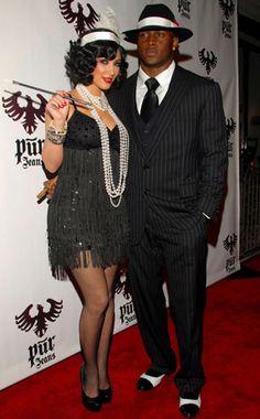 Kim Kardashian & Reggie Bush from Best Celebrity Halloween Costumes | E! Online