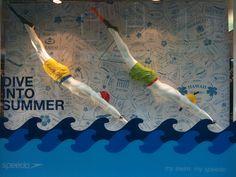 Summer window display