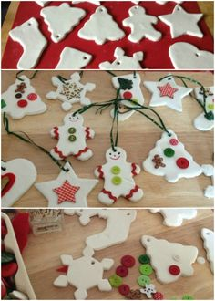 Jeste li bili vredni i napravili ukrase za jelku? Christmas Canvas, Christmas Ornaments, Paper Crafts, Diy Crafts, Deco Table, Easter, Holiday Decor, Gifts, Blessings