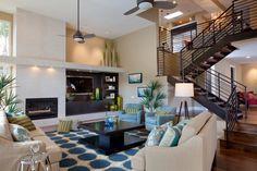 SD Country Estates - contemporary - living room - san diego - Marrokal Design & Remodeling