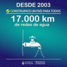 #DíaNacionaldelAgua Festejamos con más obras hídricas para toda la Argentina --- http://www.cfkargentina.com/obras-de-agua-potable-en-la-matanza/