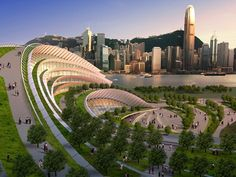 Green Roofs Are Changing Architecture: Kowloon Rail Terminus