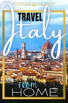 Exciting Virtual Tours Of Italy - You'll feel like you're actually there. Enjoy these online experiences until you can travel to Italy in person. #italyvirtually #virtualitaly #italyonline #italyguide #italytours Italy Travel Tips, Travel Destinations, Travel Europe, Budget Travel, Virtual Travel, Virtual Tour, Travel Guides, Travel Info, Travel Stuff