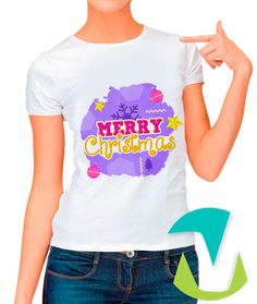 DESIGN FOR T-SHIRTS MERRY CHRISTMAS  - #mottaplantillas #design #sublimationMerry Christmas Christmas Shirts, Merry Christmas, Template, T Shirts For Women, Design, Shopping, Fashion, Cape Clothing, Templates
