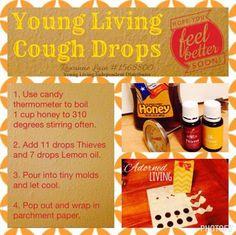 DIY Lemon Thieves cough drops, 12 days of DIY Christmas