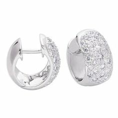14K White Gold 0.82cttw Round Diamond Earring Jewelry Pot. $1981.99. 30 Day Money Back Guarantee. Fabulous Promotions and Discounts!. Your item will be shipped the same or next weekday!. All Genuine Diamonds, Gemstones, Materials, and Precious Metals. 100% Satisfaction Guarantee. Questions? Call 866-923-4446