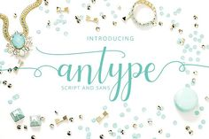 Antype Script And Sans by Studio design on @creativemarket