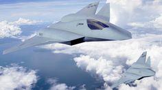 unusual jet aircraft designs   XX 6th Generation Aircraft