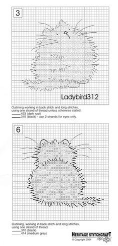 Margaret Sherry, Two Cats chart Mini Cross Stitch, Cross Stitch Animals, Cross Stitch Charts, Counted Cross Stitch Patterns, Cross Stitch Designs, Cross Stitch Embroidery, Cat Cross Stitches, Cross Stitching, Margaret Sherry