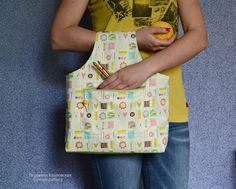 Купить Сумка для вязания и подушка-игольница - сумка, сумка для вязания, органайзер, органайзер для рукоделия
