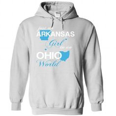 (ARJustXanh001) Just An Arkansas Girl In A Ohio World - #mothers day gift #couple gift. WANT => https://www.sunfrog.com/Valentines/-28ARJustXanh001-29-Just-An-Arkansas-Girl-In-A-Ohio-World-White-Hoodie.html?68278