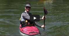 Mike Aronoff demonstrates this kayak rudder stroke and provides step-by-step instructions