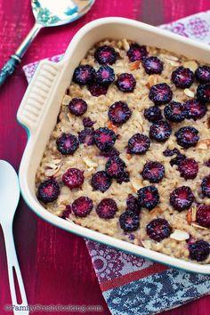 Blackberry Barley Breakfast! Via@family Fresh Cooking