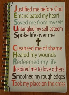 Looking for a prayer journal to start 2014? This spiral-bound, 80 lined paged, journal will be a great remind of the power of Jesus in your life. Only $9.99. #faith #Jesus #CareyScottTalks