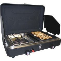 Camping Stove with Grill and Burner