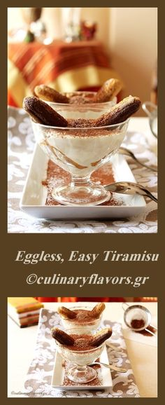 Eggless, Easy Tiramisu | Tiramisu made in minutes, without the eggs but with all…