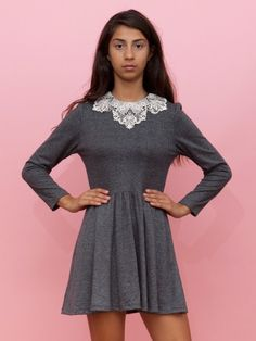 Sophee lace trimmed dress