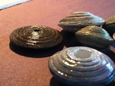 How To Make Saucer Beads Out Of Recycled Paper - YouTube