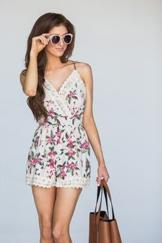 Cute Rompers for Women – Morning Lavender