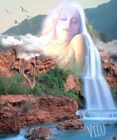 Série Elementos da Natureza - ÁGUA - Virginia  Lucia
