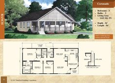 - Stratford Home Center - 3 Bed 2 Bath. Covered entry, breakfast nook area, master bedroom bath with shower and platform tub with marble surround Modular Floor Plans, House Floor Plans, Stratford Homes, Ranch Style Floor Plans, Modular Homes, Home And Away, Home Projects, Living Area, Breakfast Nook