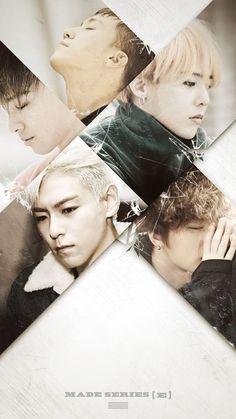 BIGBANG「E」無文字版海報