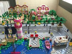 Cabikura lego friends moc 2 1m x 1m 2016.