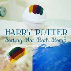 So, this Harry Potter-inspired bath bomb is pretty much the coolest thing ever. | There's A Harry Potter Bath Bomb That Shows You Which Hogwarts House You Belong In