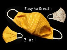 New Design - DIY Breathable Mask | The mask does not touch your mouth and nose, easier to breathe - YouTube