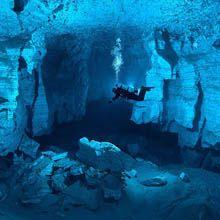 Orda Cave: essa é a maior caverna de cristal da Rússia, escondida até pouco tempo atrás.