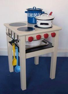 cocinita de juguete con mueble ikea