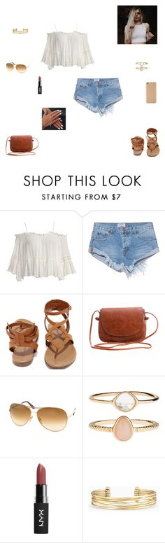 """""""picture day"""" by synclairel ❤ liked on Polyvore featuring Sans Souci, One Teaspoon, Breckelle's, Tom Ford, Accessorize and Stella & Dot"""