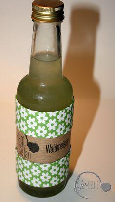 Waldmeister-Limonen- Sirup