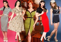 Image detail for -Vintage reproduction clothing (Pin-up, burlesque & rockabilly) – The ...