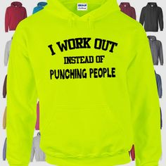 Workout sweatshirt, workout hoodie, weight lifting hoodie, gym sweatshirt, gym…