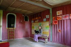 Waldorf classroom in Sweden